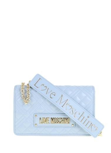 Love Moschino Omuz Çantası Mavi